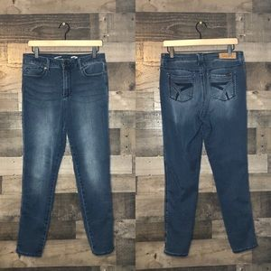 Seven7 High Rise Skinny Jeans Jeggings Size 10